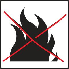 Opinn eldur bannaður / Open fires forbidden